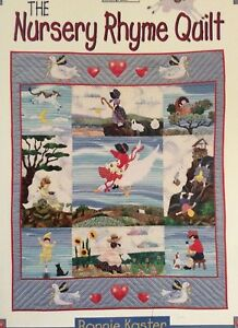 Image Is Loading The Nursery Rhyme Quilt B380 By Bonnie Kaster