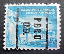 Sc # 1031A ~ 1 1/4 cent Liberty Issue, Precancel, PERU IND.