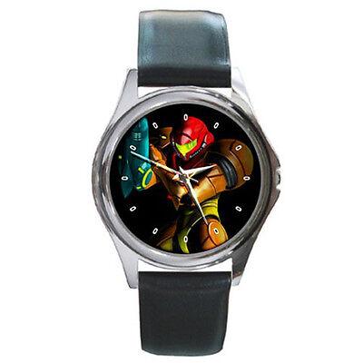 Samus Aran Metroid Other M Leather Wrist Watches New