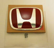 1pcs Jdm Type R Red H Emblem Front Rear Fit For Honda Accord Civic Sedan Coupe Fits 2012 Honda Civic