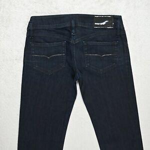 Damen Diesel Matic Jeans Größe w28 l32 Slim Fit Tapered Leg Stretch Wash 008w3