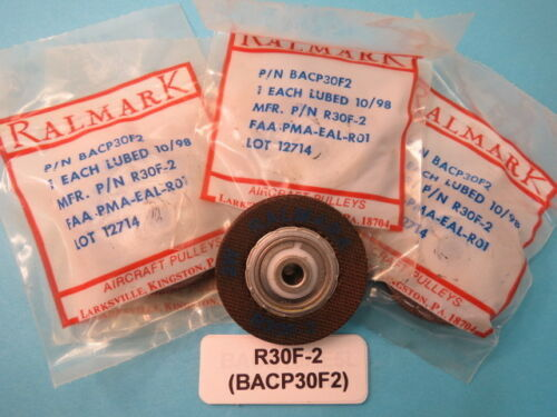 Ralmark R30F-2 Aircraft Pulleys Boeing BACP30F2 4 each NOS