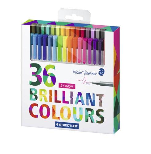 STAEDTLER triplus Fineliner farbsortiert Brilliant Colours