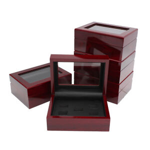 2-3-4-5-6-Slot-Wooden-Display-Box-For-World-Series-Stanley-Cup-Championship