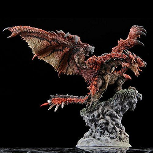 Capcom Figure Builder Fire Wyvern Rathalos Reproduction Edition Figure F/S NEW