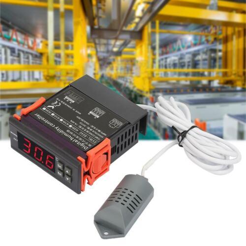 Digitaler Luft Feuchtigkeitsregler WH8040 1-99/% RH HM-40 Sensor Feuchteregler ♤