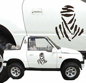 Adesivi Fuoristrada 4x4 Kit Adesivi Tuareg Per Fiancate Offroad