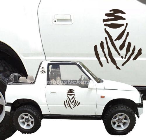 Offroad Kit Aufkleber Tuareg für Seiten Aufkleber Geländefahrzeug 4x4