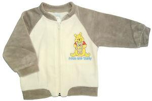 Neu-Disney-Winnie-the-Pooh-Nicki-Velour-Jacke-Nickijacke-Velourjacke-62-68-74