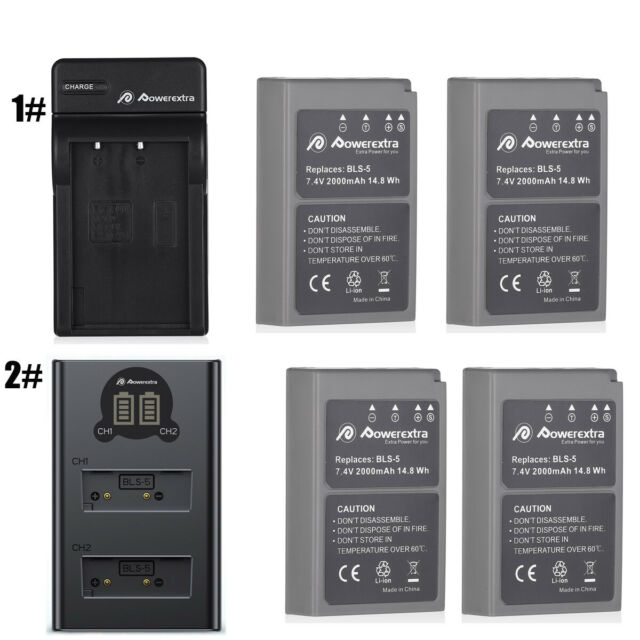 BLN-1 Battery BLN1 for Olympus OM-D E-M5 Mark II E-P5 E-M1 Pen E-P5 Cameras