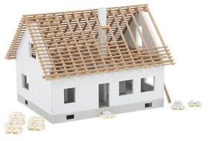 Faller-H0-Einfamilienhaus-im-Bau-Epoche-VI-Bausatz-ohne-OVP-Neu