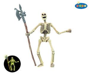 Papo 38908 Nachtleuchtend<wbr/>es Skelett 12 cm Fantasy