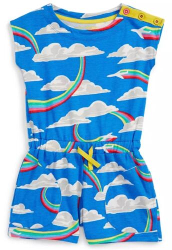 Girls Mini Printed Woven Playsuits 1 2 3 4 5 6 7 8 9 10 11 12Yrs