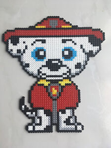 Pat Patrouille Pixel Art Gamboahinestrosa