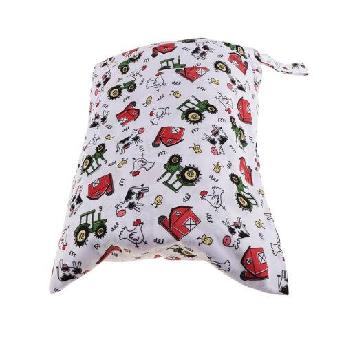 Baby Wasserdichtem Reißverschluss Wiederverwendbare Stoff Wickeltasche