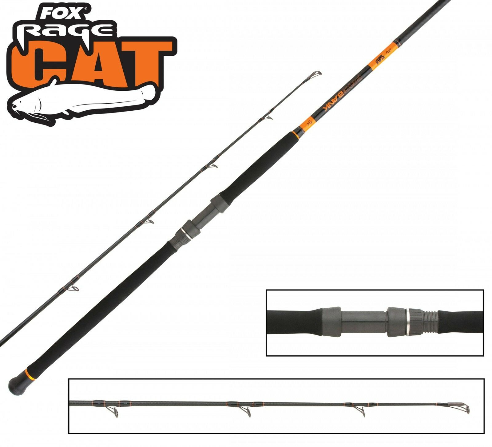 Fox Rage Welsrute Cat Pro Bank 320cm 400g Wallerruten, Welsrute Rage zum Abspannen a05d09