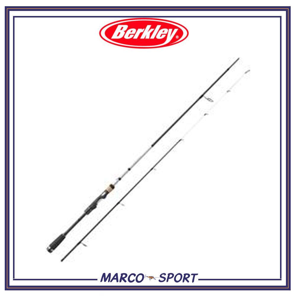 Canna da pesca a spinning in carbonio Berkley Ripple per treda mare spigola lago