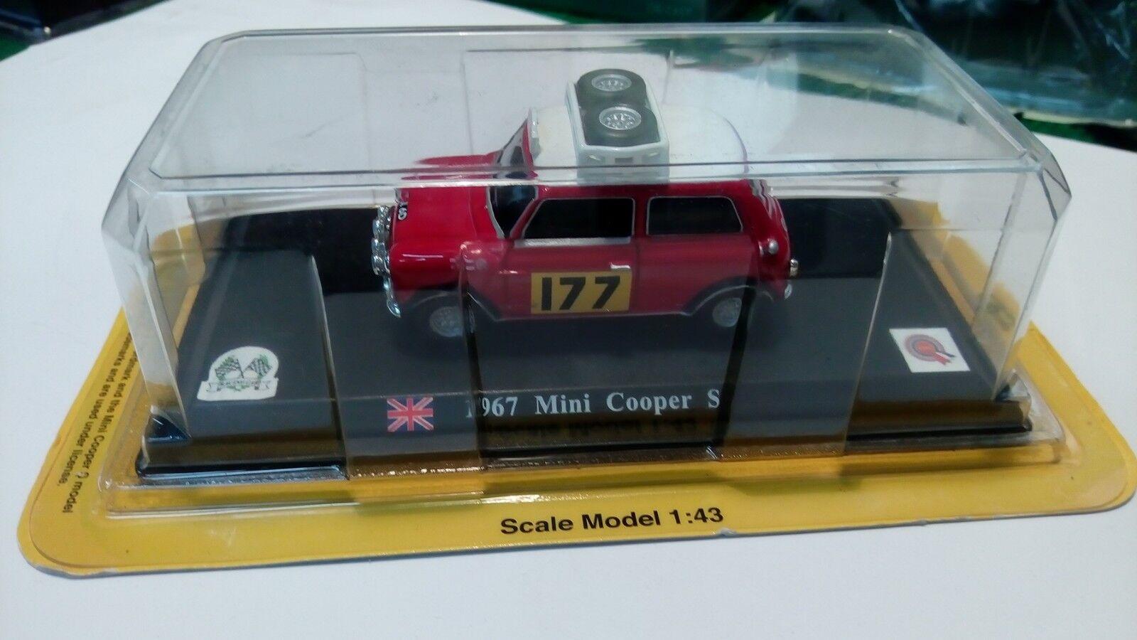 1 43 Mini Cooper 1967 Monte Carlo
