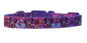 lilla-Disney-Minnie-Mouse-Collare-per-Cucciolo-di-Chihuahua-amp-GUINZAGLIO