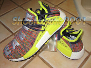 classic fit 3e940 a0bcb Image is loading Adidas-Pharrell-Williams-Human-Race-NMD-TR-7-