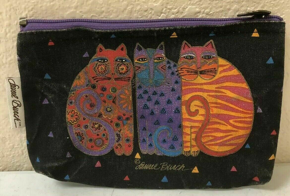 Laurel Burch Wallet Clutch Small Travel Bag Walle… - image 1
