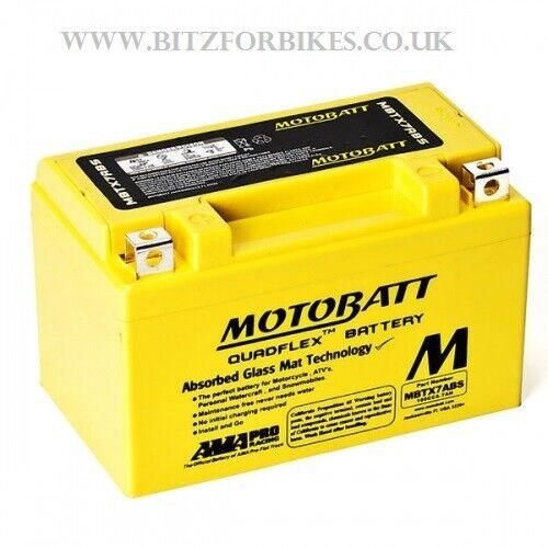 Motobatt Battery MBTX7ABS Yamaha HW 125 Xenter 2012