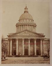 Paris Le Panthéon Sainte Geneviève Photo E. Baldus Vintage albumen albuminé 1865