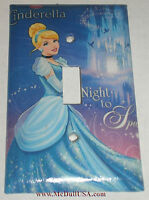 Cinderella Night To Sparkle Light Switch Power Outlet Cover Plate & More Home De