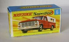 Repro Box Matchbox Superfast Nr. 6 Ford Pick Up