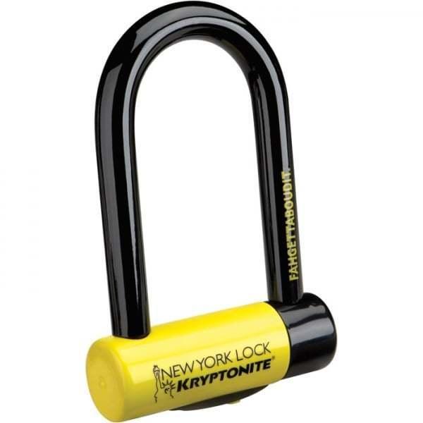 Kryptonite New York Fahgettaboudit oro se vende seguro de bloqueo de bicicleta de ciclo aprobado
