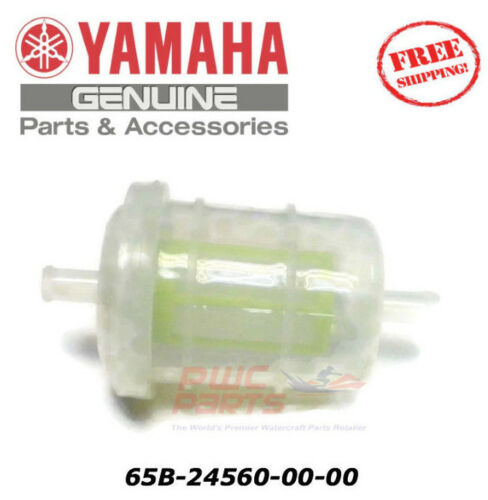 YAMAHA OEM Fuel Filter Assembly 65B-24560-00-00 1996-2000 LS /& Exciter Jet Boats