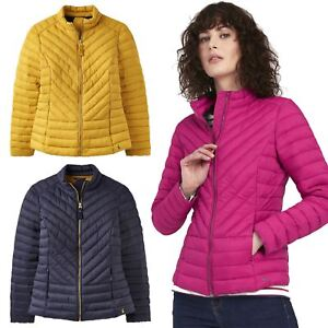 0914d7499 Details about Joules Elodie Ladies Horse Riding Warm Quilted Equestrian  Winter Chevron Jacket