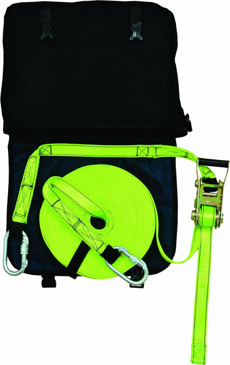 Aresta Horizontal Adjustable Lifeline System 3-Person Kit 20 Metres