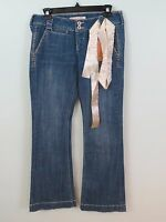 Tyte Jeans Flare Jeans Cotton Blend Size 7