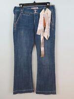Tyte Jeans Flare Jeans Cotton Blend Size 7