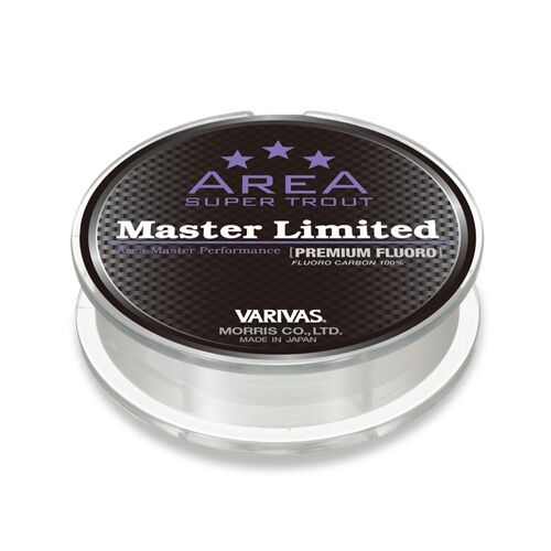 VARIVAS SUPER TROUT AREA Master Limited Premium Fluoro cabon 80m