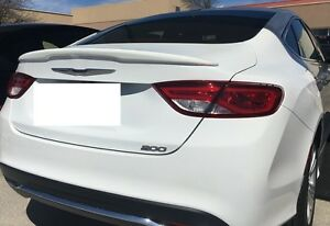 Chrysler 200 Rear >> Details About New Painted For 2015 2018 Chrysler 200 Custom Style Rear Spoiler New All Colors