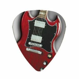 12-Pack-GIBSON-SG-Guitar-Picks-Medium-Celluloid-Pick-FREE-Shipping