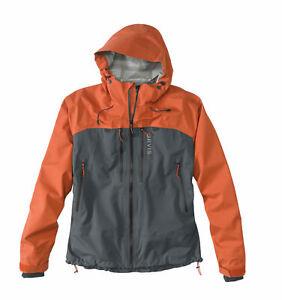 Orvis Ultralight Wading Jacket Medium Burnt Orange Ash