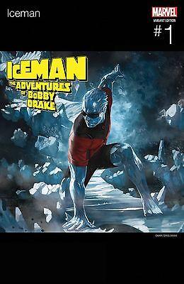 ICEMAN 1 SKAN HIP HOP VARIANT NM X-MEN