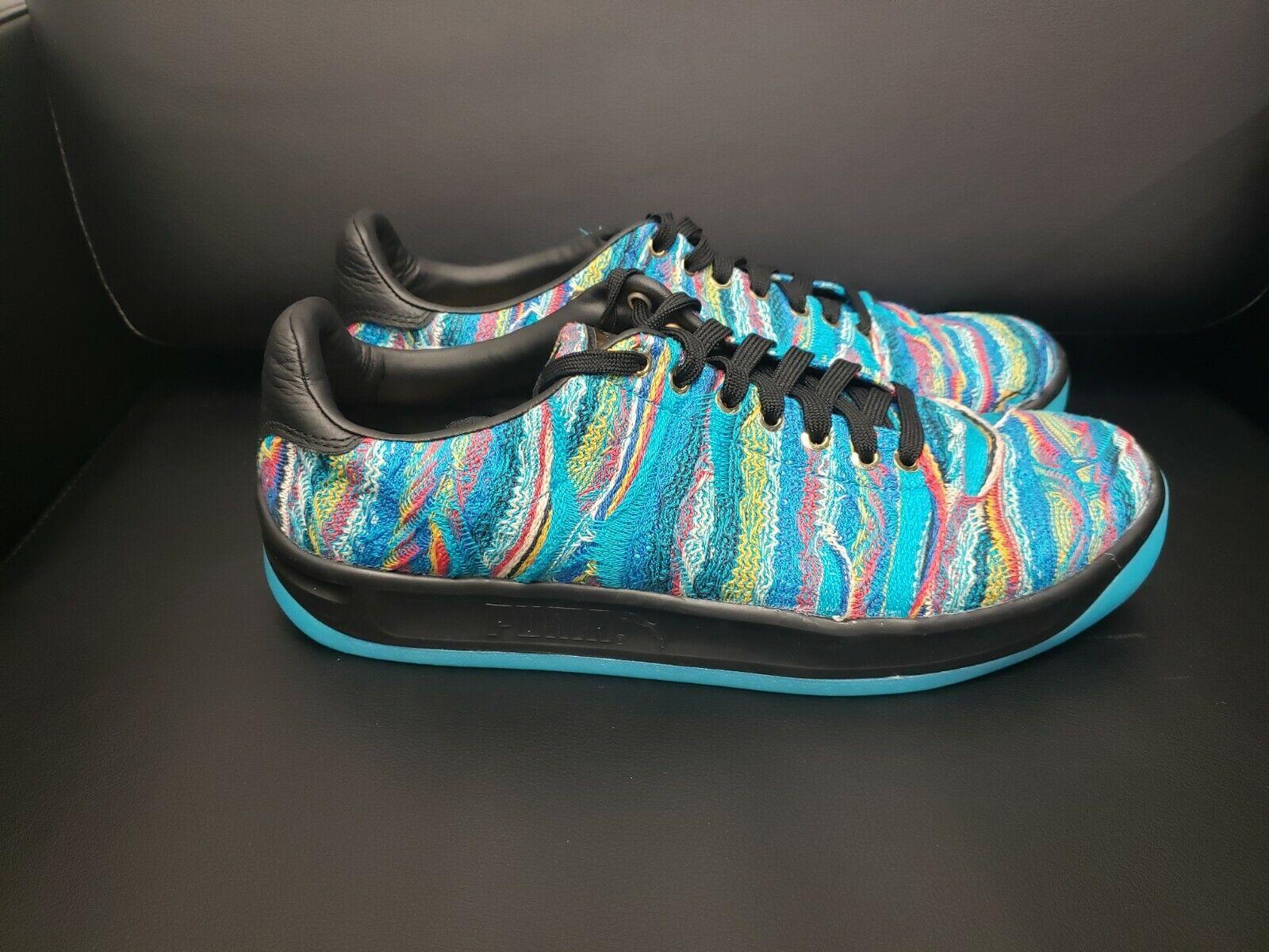 Puma California  COOGI  Multi-color Men's bluee Textile Sneakers SZ 11 36797301