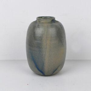 Steingut Keramik vintage vase kubicek 879 17 salzglasur steingut keramik german