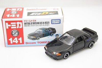 Takara Tomy Dream Tomica  #141 Initial D SKYLINE GT-R (R32) Diecast Toy Car 2015