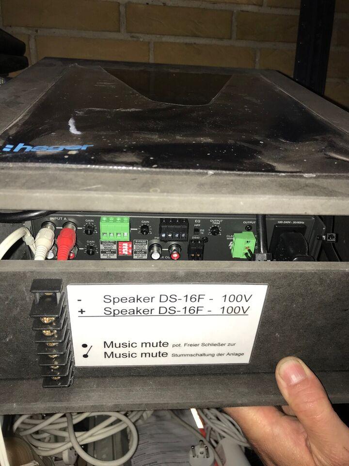 Bose Freespace IZA 190-HZ forstærker, Bose Freespace IZA