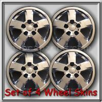 4 Chrome 17 Wheel Skins Hubcaps 2013 Jeep Cherokee Chrome Wheel Covers