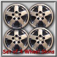 4 Chrome 17 Wheel Skins Hubcaps 2011-2012 Jeep Cherokee Chrome Wheel Covers