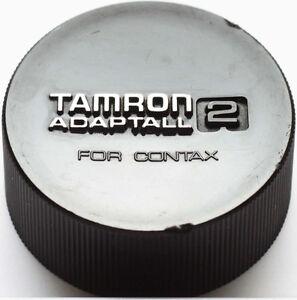 Tamron-Adaptall-2-Rear-Lens-Cap-fuer-Contax-Yashica-C-Y-CY-Bajonett-Original