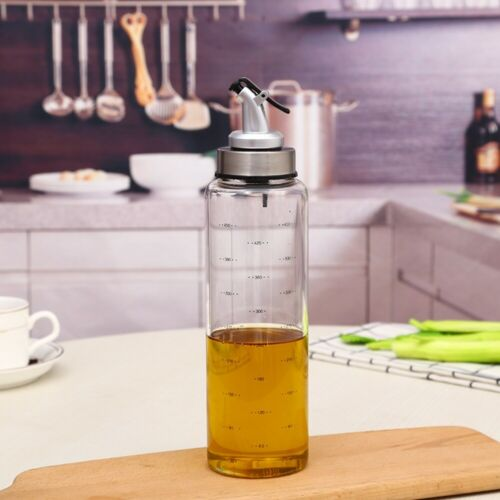 Oil and Vinegar Cruet Pourer Bottles with Dispensers 200//300//500ml Cooking New