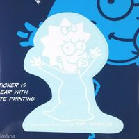 The Simpsons Maggie Simpson Car Window Sticker Decal Family 2 1/2 Inches