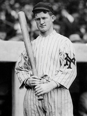 GIANTS STAR RED MURRAY HELPED GINTS WIN 4 PENNENTS 1911, 1912, 1913, 1917 8x10